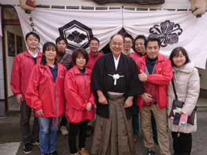 国の重要無形民族文化財である敦賀西町の綱引き「夷子大黒綱引」