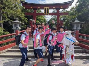 7回目の「つるがおもてなし隊with高校生プロジェクト」