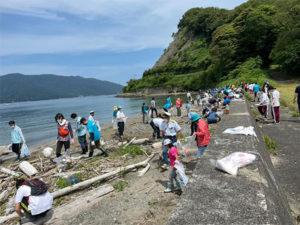 「海ごみゼロプロジェクト2021in敦賀」
